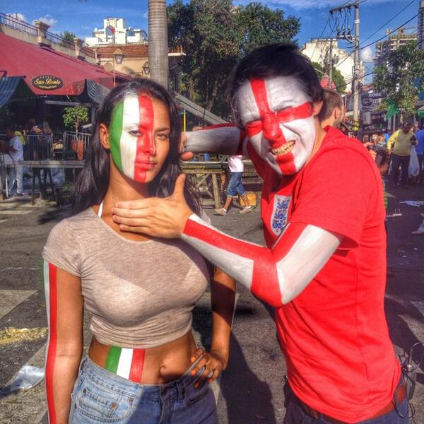 Just for tonight we are no longer friends! @mayajama @copa90 #football #brasil #italy #saopaulo #worldcuptaxi http://t.co/AUW8WVtufp