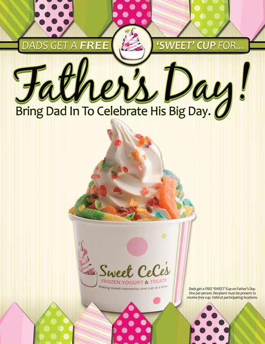 Dads get a free SWEET cup tomorrow for Father's Day!!! http://t.co/CFpPR0Y3C0