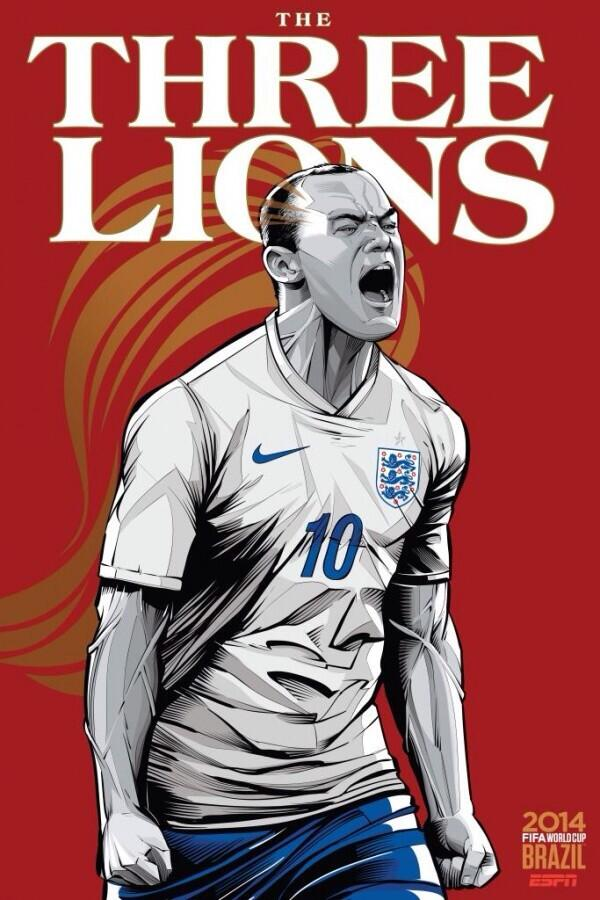 Pride, passion, 3 lions & Roy! COME ON @england #Believe #WorldCup2014 http://t.co/ZuJYedN6X9