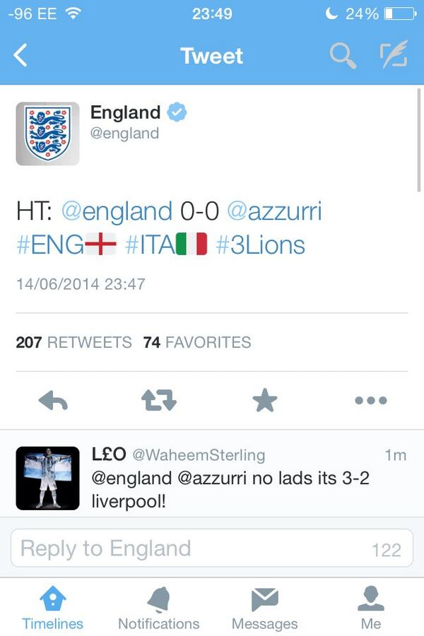 @_youhadonejob erm what's the score @england ? http://t.co/xZLWG2tApu