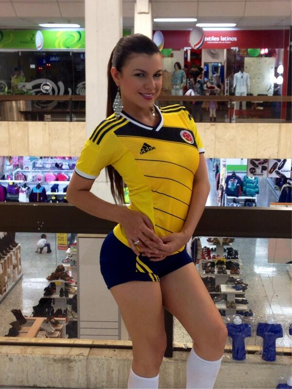 Que orgullosa me siento de ser Colombiana