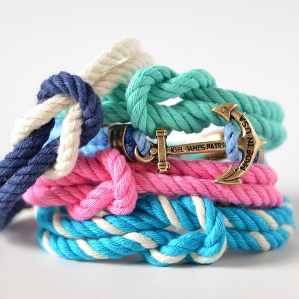 Retweet to win one of these new KJP Summer anchor knot bracelets. Must be following @KJP to win. Ends tomorrow night http://t.co/ef3aoVyqlT