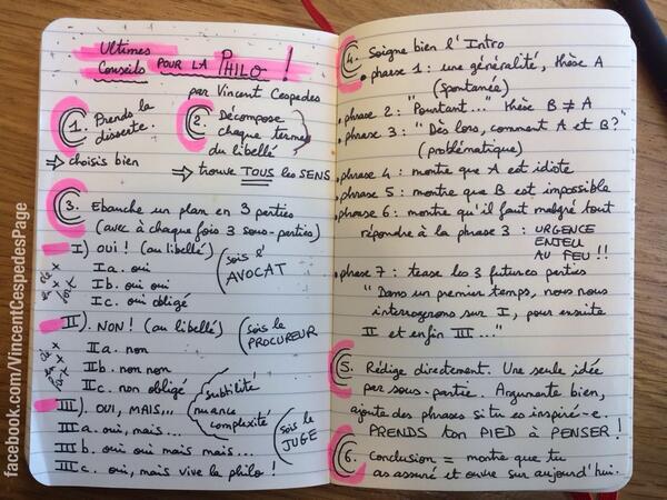 6 Ultimes Conseils pour la #philosophie ! #bac #philo http://t.co/x5F6zv7r6z