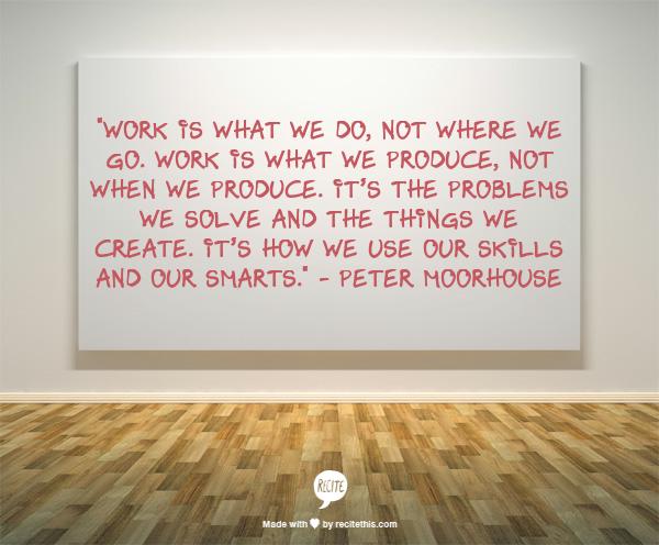 #worklifebalance  in the 21st century - redefined. http://t.co/6hWunP475Y