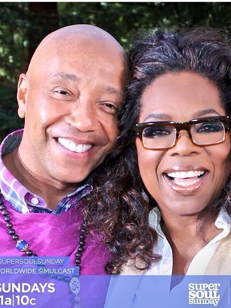Excited to see my 2 favorite teachers together @oprah and @UncleRUSH on @OWNTV in 10 minutes #successthroughstillness http://t.co/8cfF215PGQ