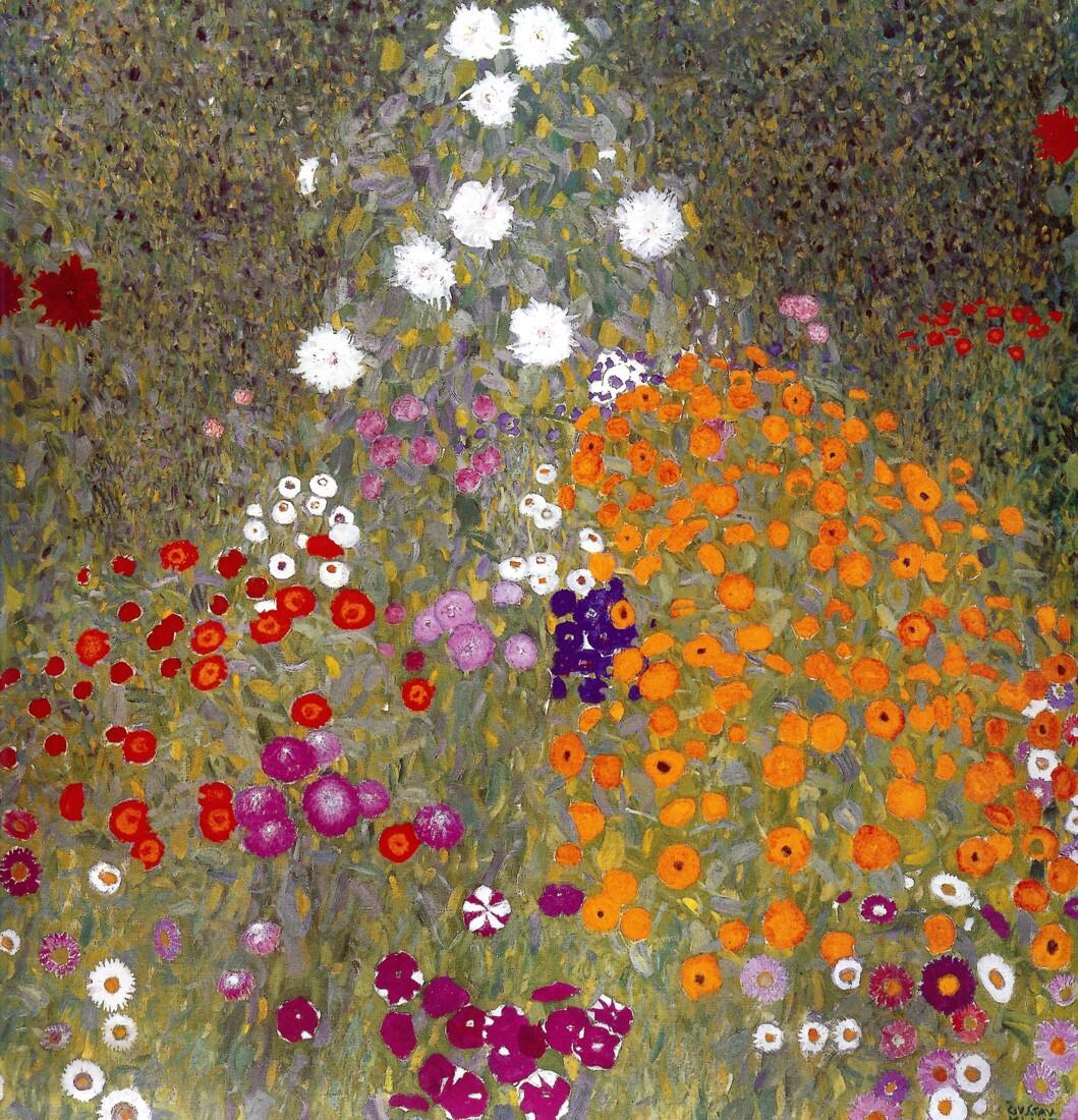 "RT @AlessandroForn6: Gustav #KLIMT, ""FLOWER GARDEN"" 1907 #twitart #followart #iloveart #fineart #artist #secession http://t.co/Rc9ZAI7hev"
