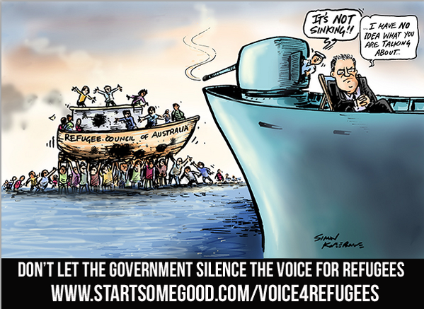 It's #RefugeeWeek 2014. Show your support by helping @OzRefugeeCounc stay afloat! http://t.co/L4n4c0XLCu #auspol http://t.co/dxq80caCuO