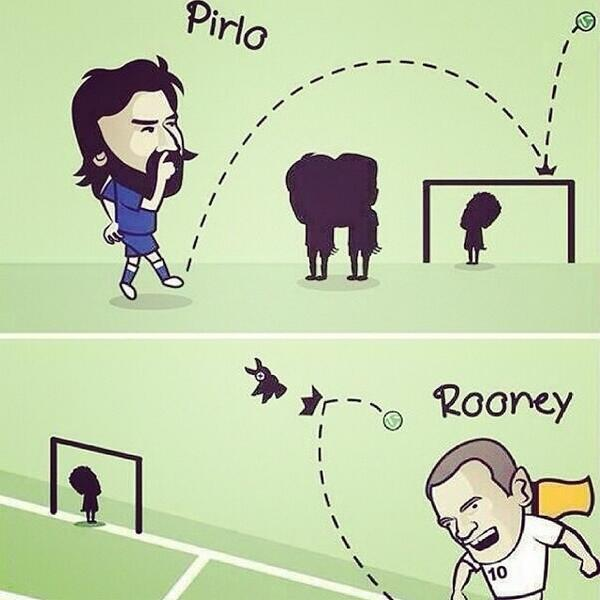 #Pirlo & #Rooney.. #worldcup #Italy #England http://t.co/TQcw6YOXkN