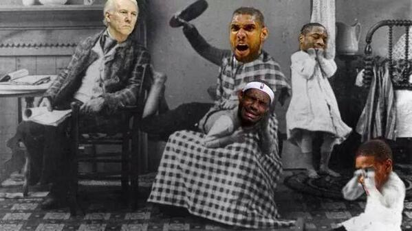 Whooped that ass. #SpursNation #NBAFinals http://t.co/Y2R4p13aPj