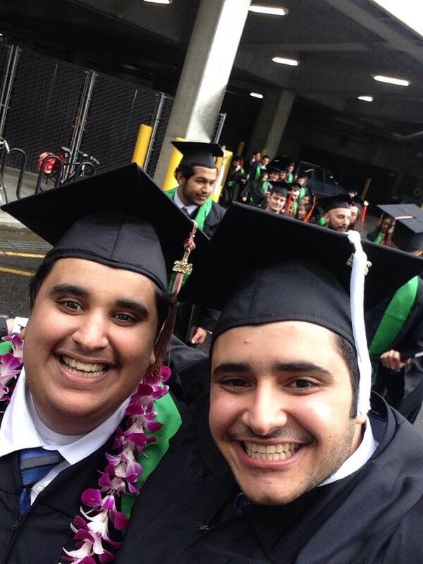We are very proud of you! Congratulations! RT @SAGAM3R: We did it @OthmanAlfuraih #2014PDXGrad http://t.co/5ZbfiXIk3E