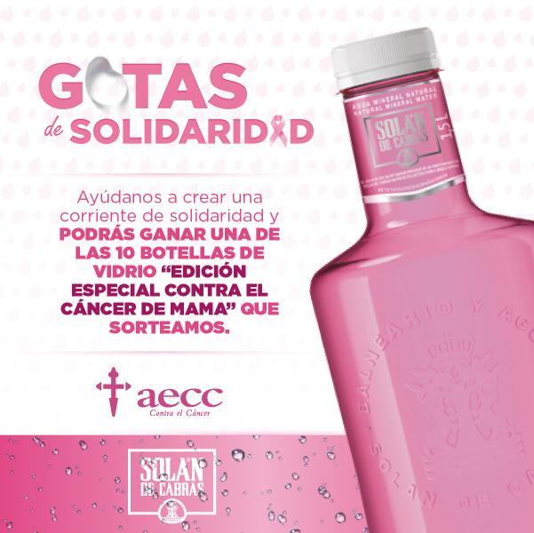 Hoy tenemos que conseguir ser TT en la lucha contra el cáncer de mama #gotasdesolidaridad @aecc_es http://t.co/ibpL8mFqXD