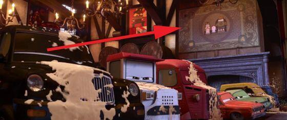 """test ツイッターメディア - カーズ トリーに映画「メリダとおそろしの森」が""""カーズ・ヴァージョン""""で描かれている。 https://t.co/hb5pRFE0vY"""