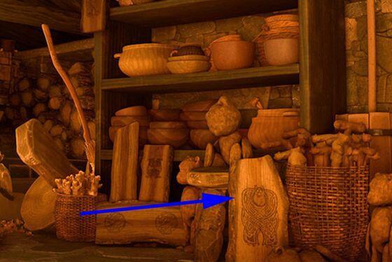 """test ツイッターメディア - メリダとおそろしの森 映画「モンスターズ・インク」に登場する""""サリー""""が掘られている。 * https://t.co/CHcIjI4nlz"""