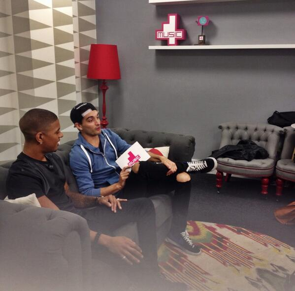 Fun times filming with @ImRichardRawson & @TomTheWanted. Good to see you! http://t.co/KXwXO4Ncyu
