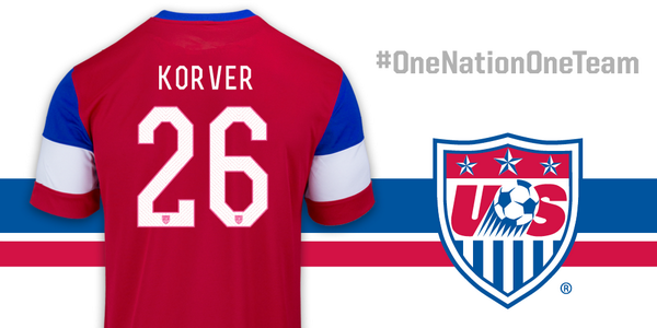 """Standing behind @ussoccer & #USMNT today for their #WorldCup game against Ghana! #USA #OneNationOneTeam"""" http://t.co/oO3JIY1isF"""