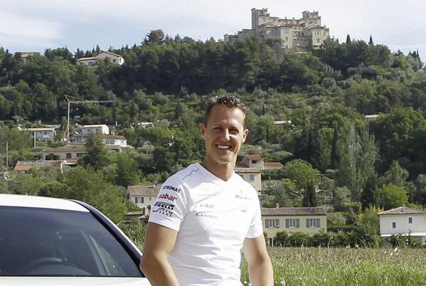 Good news regarding Michael Schumacher. http://t.co/KfNQn4GNXG http://t.co/eduYZcIkmp