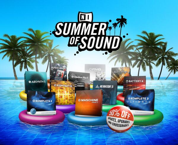 The biggest Summer of Sound special is here! 50% off updates, upgrades and crossgrades:  http://t.co/3cPZS6lbdH http://t.co/ecERHsL4c2