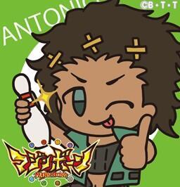 そして、本日6/17のアントニオの誕生日を記念して、アイコンを作成しました!SDキャラになったアントニオもよろしくお願い