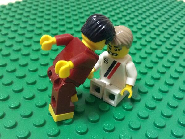"The #WorldCup in Lego. Priceless :)) ""@legorobo: Pepe #POR #GER http://t.co/LQ2DSfwxgj"