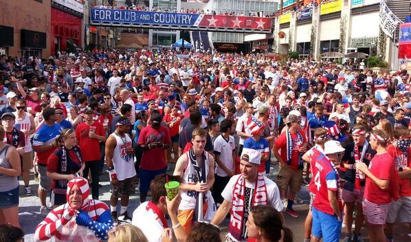 米国もW杯で大盛り上がり 米国人はサッカーに興味無いとは何だったのか