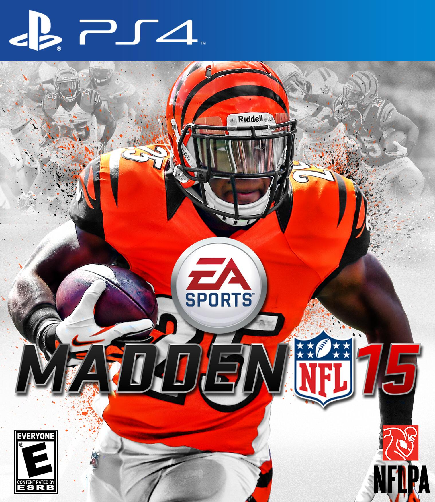 @G_Bernard25 made you a #Madden15 #PS4 cover man hope u like it! #WhoDey http://t.co/1hap25rOlR
