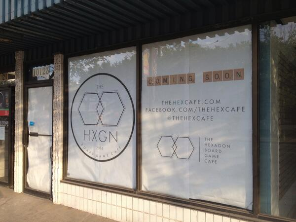 RT @whereedmonton: MT @thehexcafe Stay tuned for a new board game cafe opening on Whyte Ave! http://t.co/sHDzPBVKX8 @oldstrathcona #yeg #new