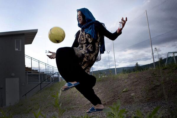 Check out this great project by Lela Ahmadzai documenting the Afghan women's football team... http://t.co/1rocww9hju http://t.co/Frd5crL6db