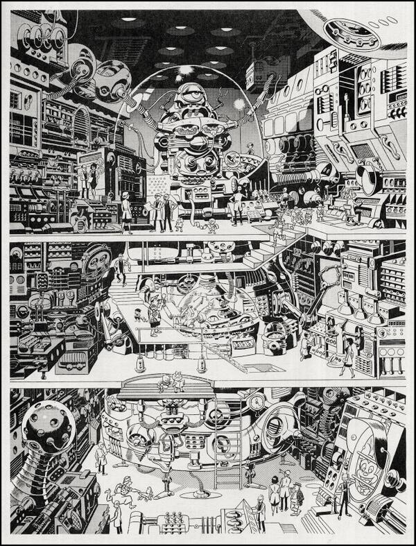 Tom Spurgeon (@comicsreporter): happy birthday to the patron saint of american comic books, wally wood -- http://t.co/mVzR9cMVdg
