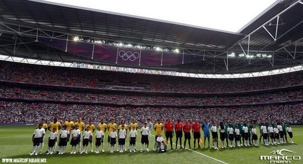 Hace 22 meses vencimos a Brasil, en Londres. Hoy, estamos listos. Va por México. Va por tí: http://t.co/rO9w1oTjnp http://t.co/S8WxlKaOGW