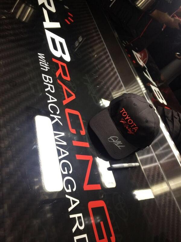 PR: We're feeling a little generous today, retweet & we'll select a random winner to receive this signed hat @ 9pm ET http://t.co/cs9rV38cNu