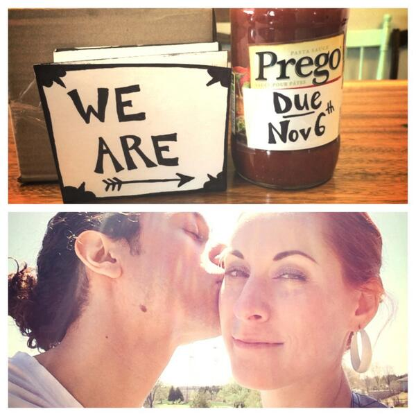 Yes the rumours are true. G and I are welcoming a precious babe to our family! Nov 6th excited and freakin' out! :) http://t.co/MFpmki5NWw