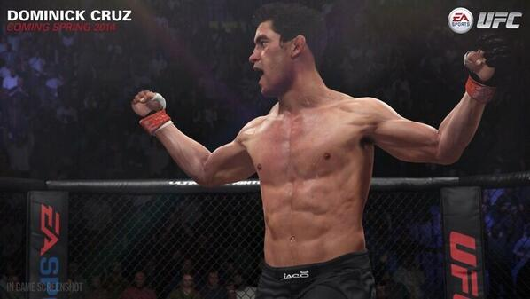 Dominick Cruz (@TheDomin8r): Mornin' gamers... The new EA Sports UFC game is out TODAY...get yours!  @easportsufc @ufc http://t.co/f8t5VSu8RW