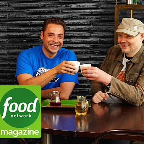 Just 2 Chicago Rock Legends drinkin green tea & talkin shop.Full story in jul/Aug issue of #FNMag @Billy @foodnetwork http://t.co/lLQMx5o8Mx