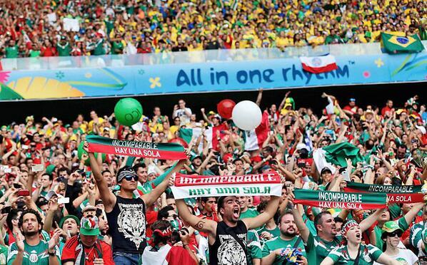 FOTO: Los Incomparables, hinchas de @TigresOficial apoyando a @miseleccionmx ante Brasil http://t.co/2DpdXqV0b3