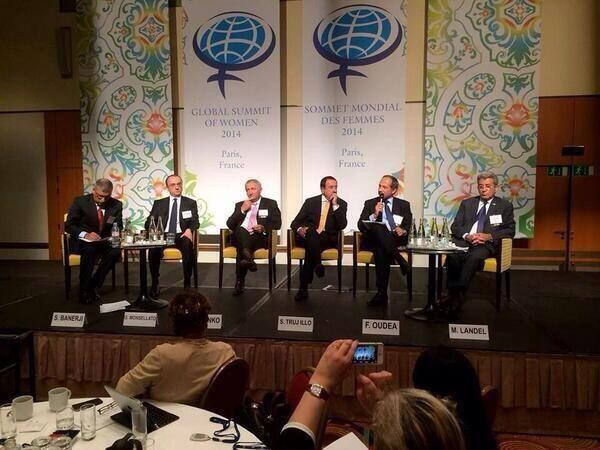 Tone deaf. MT @CGCassieDoyle A snap of the Global Summit of Women 2014. I don't know whether to laugh or cry. http://t.co/uDjg6ZmRxC