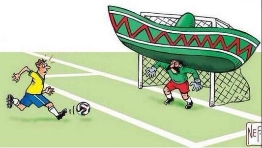 Resumen gráfico del partido #BRA #MEX http://t.co/fRCglWbDVR
