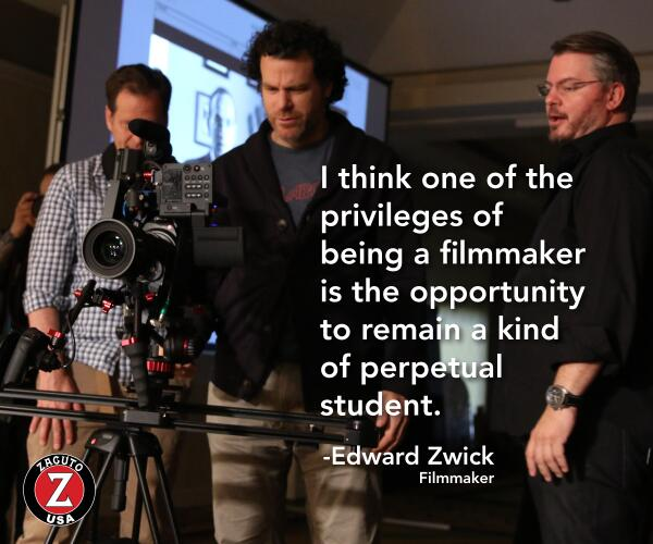 """""""I think one of the privileges of being a #filmmaker is the opportunity to remain a kind of perpetual student"""" #quote http://t.co/7ZnwivhIGR"""