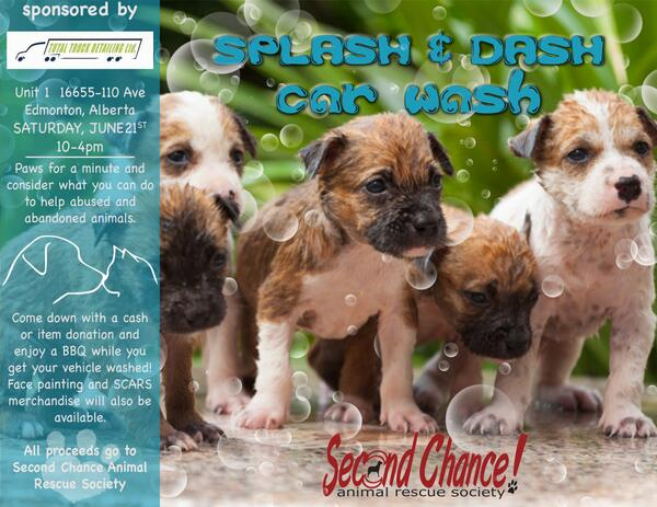 SCARS Car Wash Fundraiser Sat., June 21 10am-4pm at Total Truck Detailing 16655-110 Ave, Edm - http://t.co/5p5eFMiypk http://t.co/ee97CgwAg6