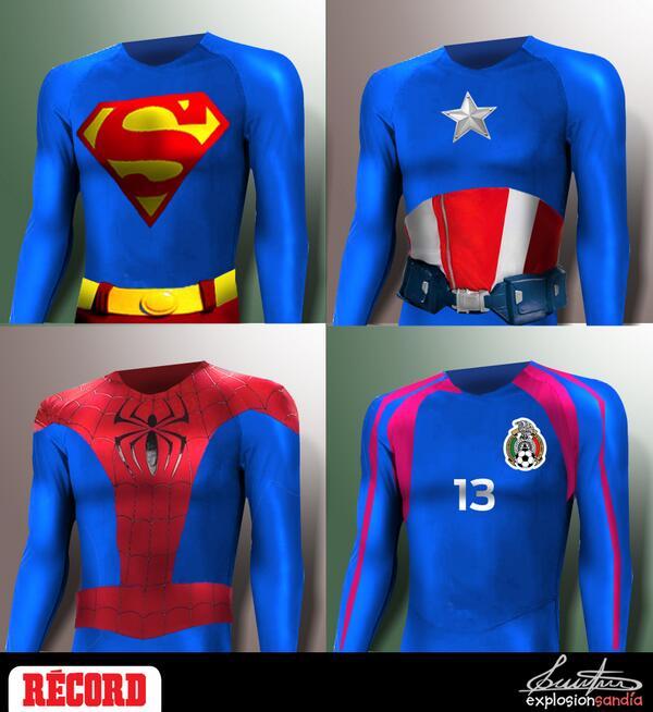 Te presentamos 'Héroes', el livecartoon especial de @ExplosionSandia para Guillermo Ochoa http://t.co/4ILBa67o11 http://t.co/tcmCBoMrm5