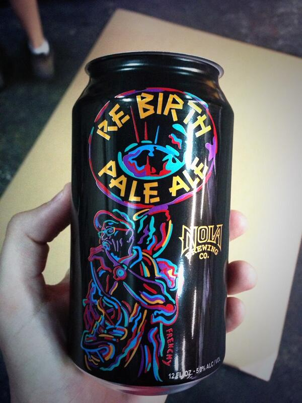 Rebirth Pale Ale cans are FINALLY here! http://t.co/ByU3mKfOKV