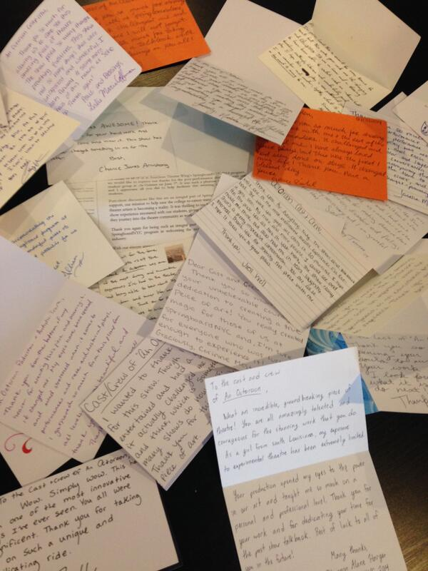 An outpouring of love and gratitude from participants of @TheWing Springboard NYC program. .#futuretheatermakers http://t.co/uKifowjdeC