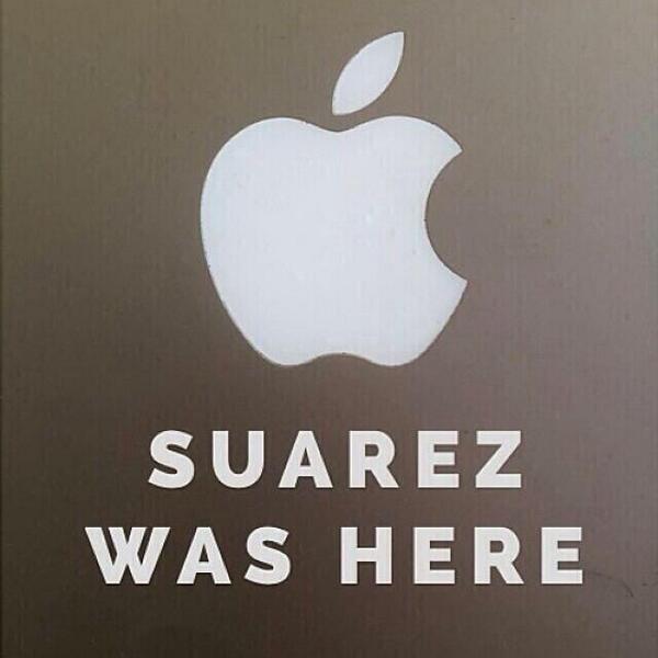 Suarez was here: http://t.co/MBG5c2p3qB