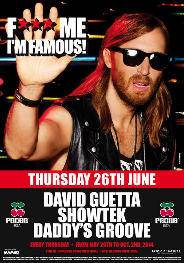 We're back in Ibiza ! See you tomorrow night with @davidguetta  and @Showtekmusic at the one and only @pacha ! http://t.co/TxMczD2r8k