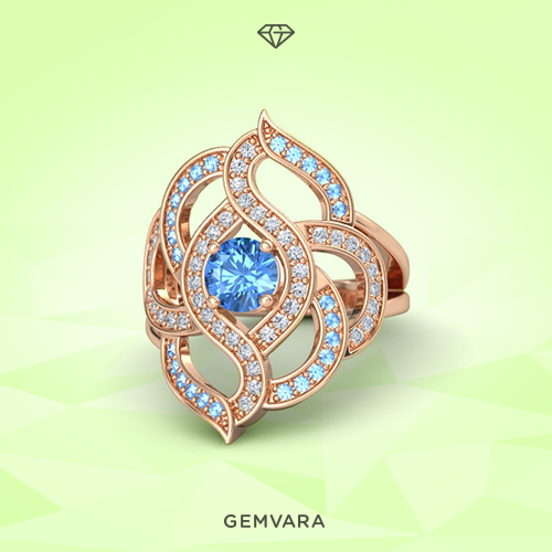 A touch of whimsy.  Featuring 70 handset gemstones, style the new Brilliant Rose Ring: http://t.co/ZB9BtET6aQ http://t.co/C92FMB4pRR