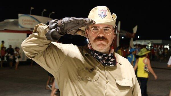 As you cheer on @ussoccer today, look for alum @mike_damico '05 (aka Teddy Goalsevelt) leading cheers at #WorldCup! http://t.co/EMYxkJHv0f
