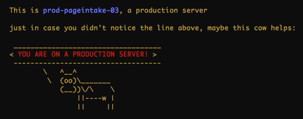 Secrets of ninja #devops (part 0x07): the production cow http://t.co/R7zt2EilwJ