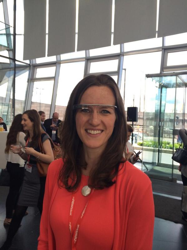 Trying @googleglass at the #futurecomms14 conference http://t.co/xWpY4tF26Q