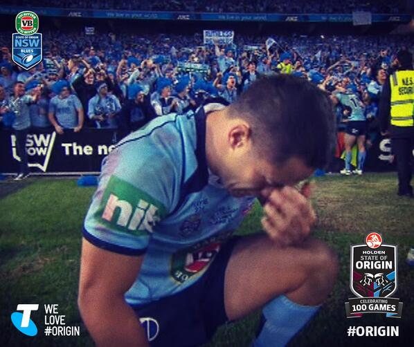 The emotion is overwhelming for so many of the boys. You can really tell how much this means to them #uptheblues http://t.co/lGHrf5HIL5