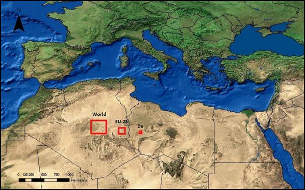 Total area of solar panels it would take to power the world, Europe & Germany http://t.co/JikxcEXW2u >Worth resharing http://t.co/GIq5FQkXOW