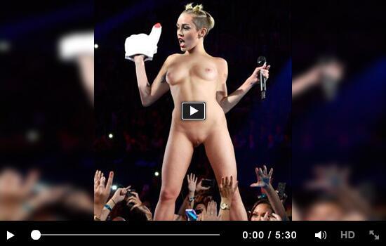 Fotos de Miley Cyrus desnuda, tetas, pezon, culo, coo